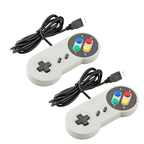 exlener-super-game-controller-snes-usb-gamepad-clasico-pack-2-para-pc-juegos-de-mac-para-win98-me-20