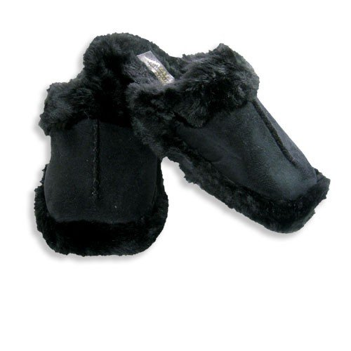 Cheap Tru-Fit – Womens Slipper, Black 15263 (B001L4IFY2)