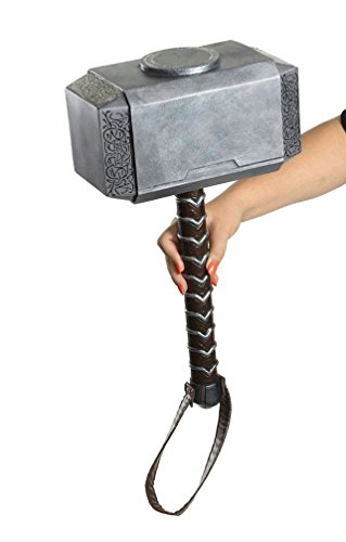 [Popcandy Rubie's Costume Avengers 2 Age of Ultron Child's Thor Hammer Mjolnir Prop] (Lady Thor Costumes)