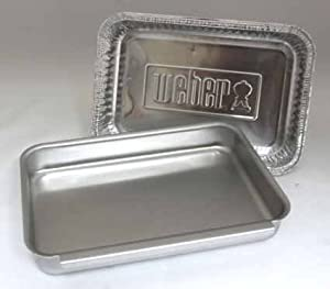 Weber #93305 Aluminum Catch Pan Kit from Weber Stephens
