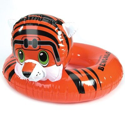 NFL 3-6 Years Inflatable Mascot Inner Tube NFL Team: Cincinnati Bengals - 1