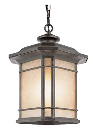 Trans Globe Lighting 5826 RT 18-Inch High Outdoor Pendant, Rust