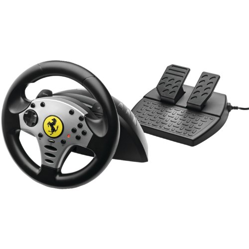 Thrustmaster Ferrari Challenge Wheel for PS3 and PC (Pc Ps3 Steering Wheel compare prices)