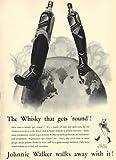 Moonlizard Johnnie Walker Whiskey Vintage Advert 11