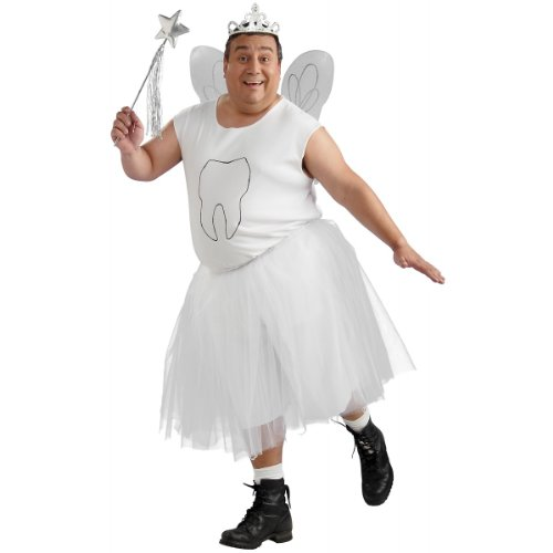 Tooth Fairy Costume - Plus Size - Chest Size 46-50