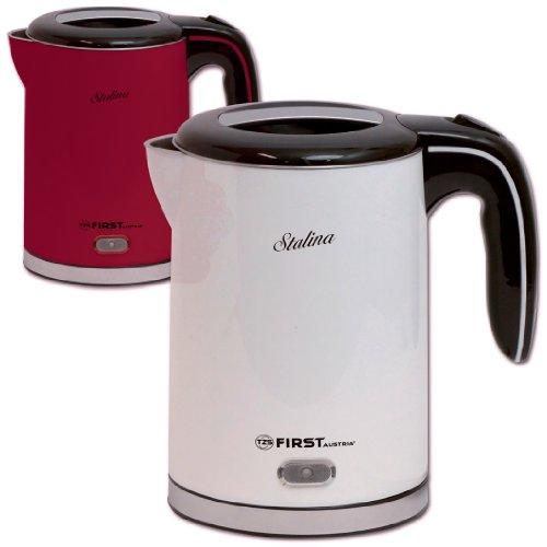 oncom gorenk 1 2 liter wasserkocher mit edelstahl innen 1630 watt schnurlos in rot oder wei. Black Bedroom Furniture Sets. Home Design Ideas