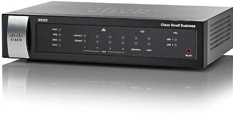 Cisco RV320-K9-G5 - routeur gigabit Dual Wan VPN - GRIS