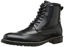 Steve Madden Men\'s Obstrukt Boot, Black, 11.5 M US