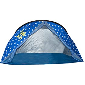 Safe in the Sun UV 50 Large Family Beach Cabana - Blue Stars