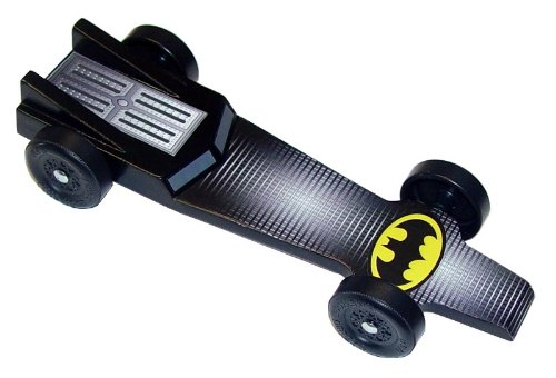 Batmobile Extreme Speed Pinewood Derby Car Kit