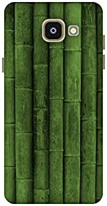 The Racoon Lean Green Bamboo hard plastic printed back case / cover for Samsung Galaxy A5(2016)