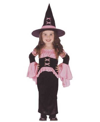 Pretty Pink Witch Costume - Toddler Costume