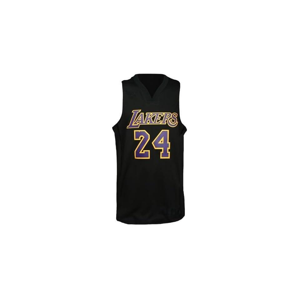 02fe2860f49 Los Angeles Lakers Kobe Bryant  24 Black Mamba Nickname Swingman Jersey ( Black)