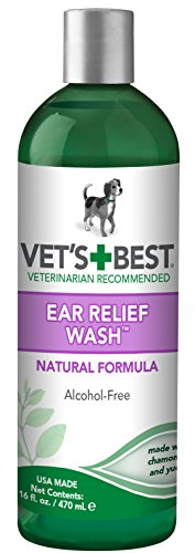 Vet's Best Dog Ear Relief Wash, 16 oz Refill