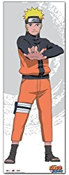 Great Eastern Entertainment Naruto Shippuden Naruto Oversized Wall Scroll, 33 by 44-Inch