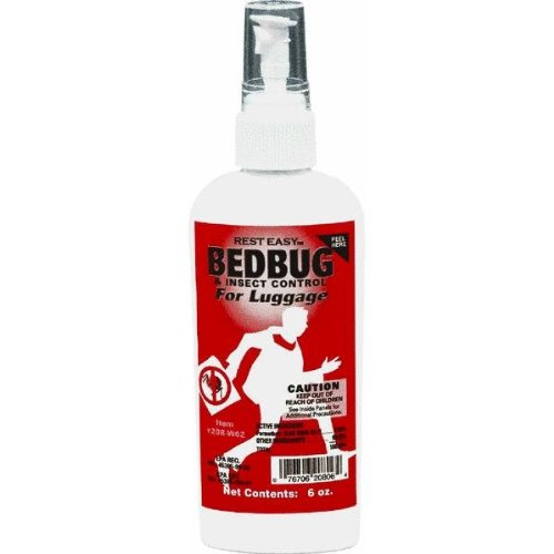 JT Eaton 208W6Z Bedbug Spray For Luggage & Mattresses