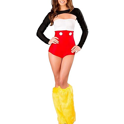 Women Cute Mickey Minnie Mouse Girl/Women Fancy Cosplay Christmas Costume