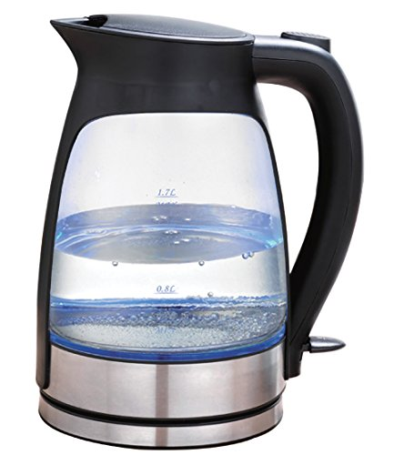 Glip JK-103BK Electric Kettle, Black (Kettle Wireless compare prices)