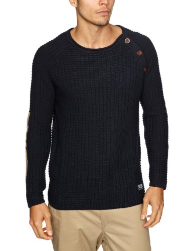 Cottonfield Brookland Men's Jumper Midnight Blue Large