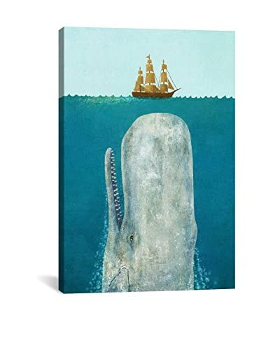 Terry Fan The Whale Gallery Wrapped Canvas Print