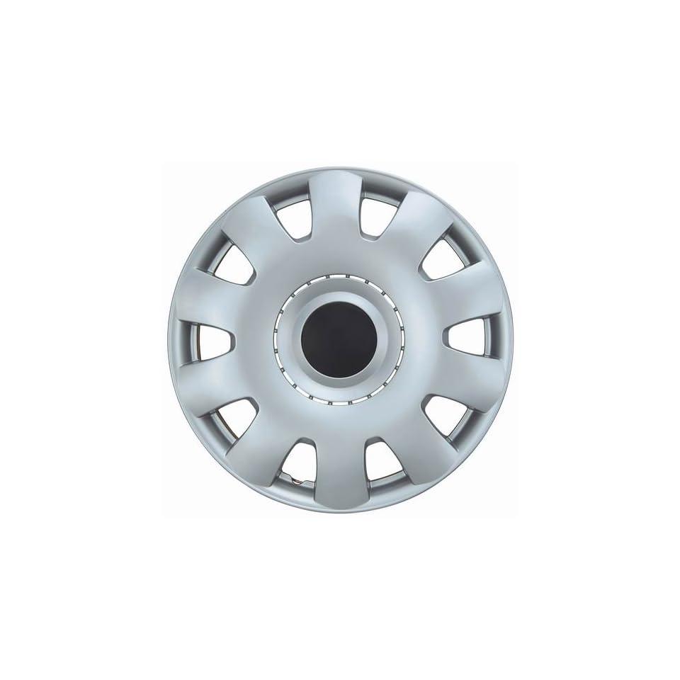 Drive Accessories KT 986 15S/BK, Volkswagen Passat, 15 Silver w/ Black Center Replica Wheel Cover, (Set of 4)