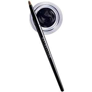 Maybelline New York Eye Studio Lasting Drama Gel Eyeliner, Blackest Black 950, 0.106 Ounce