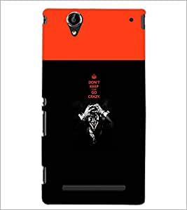 PrintDhaba Cartoon D-3211 Back Case Cover for SONY XPERIA T2 ULTRA (Multi-Coloured)