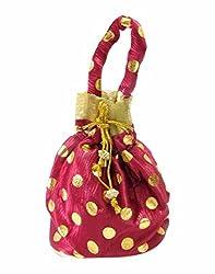 Adiari Fashion Multicoloured Chic Potli Bag for Women