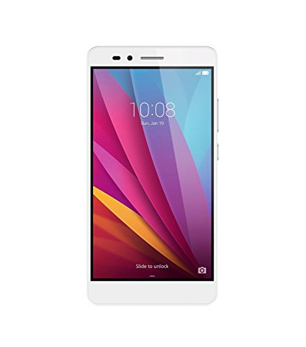 Honor 5X Smartphone (14 cm (5,5 Zoll) Touch-Display, 16 GB interner Speicher, Dual Sim, Android 5.1) silber