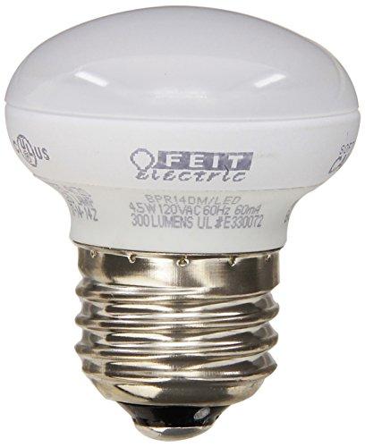 Feit Bpr14Dm/Led 4.8-Watt Dimmable Led R14 Mini Reflector, 40W Equivalent