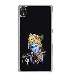 ifasho Designer Phone Back Case Cover Sony Xperia Z3 :: Sony Xperia Z3 Dual D6603 :: Sony Xperia Z3 D6633 ( Beautiful Women Saree Desi Gal )
