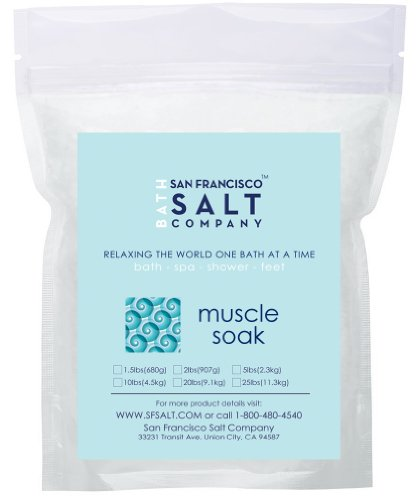 Muscle Soak Bulk Bath Salts 20 Lbs