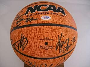 UCLA Bruins 2007-08 Team Signed Basketball #3 - PSA DNA Certified - Autographed... by Sports+Memorabilia