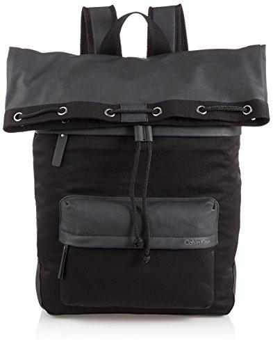"Calvin Klein Jeans, Zaino ""Surface Evolution"", Nero (Black), 42 cm, 17 litri"