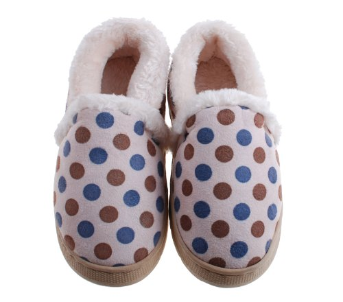 Colorlfulworldstore Unisex Side seam Cartoon child cotton slippers-autumn&winter Children's homes warm shoes