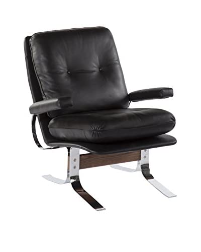 Control Brand The Appel Faux Leather Lounge Chair