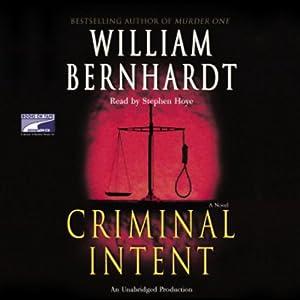 Criminal Intent | [William Bernhardt]