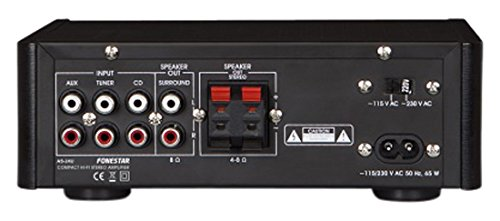 Hi-Fi compacte AMPLIFIER FONESTAR AS-24U USB / SD / MP3-2x15W RMS