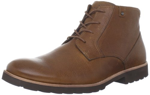 Rockport Men's Lh Leather Light Tan Lace Up Boot K72489 9 UK