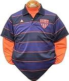 (ルコックスポルティフゴルフ)le coq sportif/GOLF COLLECTION 長袖レイヤードシャツ QG1047CP M193 M193(ナイトブルー) 3L