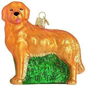 #!Cheap Old World Christmas Golden Retriever Ornament