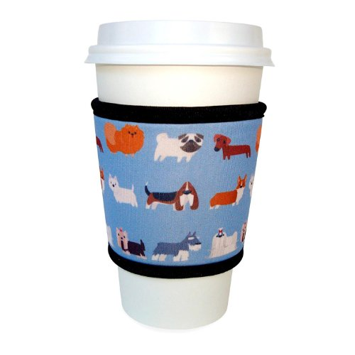 Joe Jacket® - Reusable Coffee Cup Sleeve - Pet Lovers Gift - Dogs - Dog Lover Gifts Picture