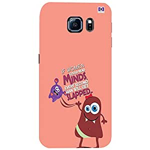 Mind Slapped - Mobile Back Case Cover For Samsung Galaxy S6