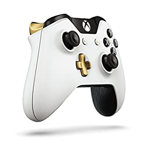 Xbox One Special Edition Lunar White Wireless Controller by Microsoft Software