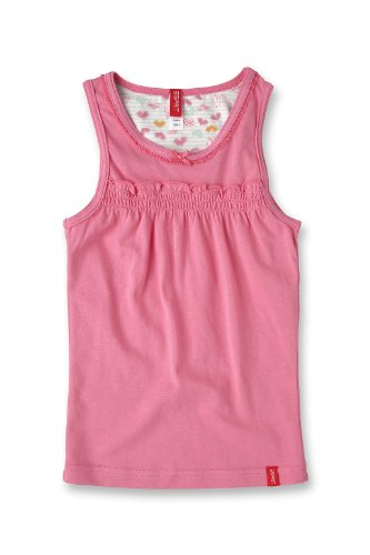 Esprit Bodywear Girls F2699/Hearty Strip. Undershirt Pink (Bb ) 104/110