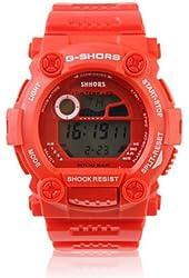 Baolihao Waterproof Sporty Single Movement Digital Stop Watch with Night Light WTH0370