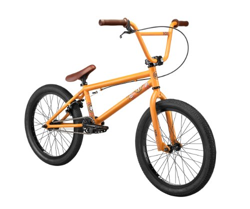 Kink Curb 2013 BMX Bike (Orange/Brown, 20-Inch)