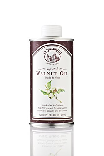La Tourangelle Roasted Walnut Oil, 16.9-Ounce Cans (Pack of 3)