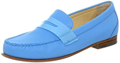 Cole Haan Women's Monroe Penny Loafer,Blue Topaz Reflective,5 B US