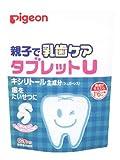 ピジョン 親子で乳歯ケア タブレットU とれたていちご味 60粒 1歳6ヶ月頃から D408